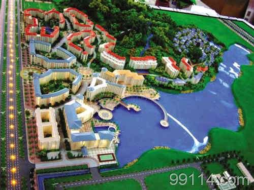 模型材料开发研究以及园林景观设计于一体的专业模型公司.图片