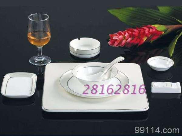 实惠酒店餐具套装中餐摆台餐具图片