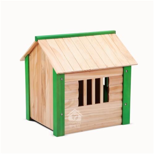 厂家出口批发宠物用品家具|室内狗窝可拆卸|木制狗窝