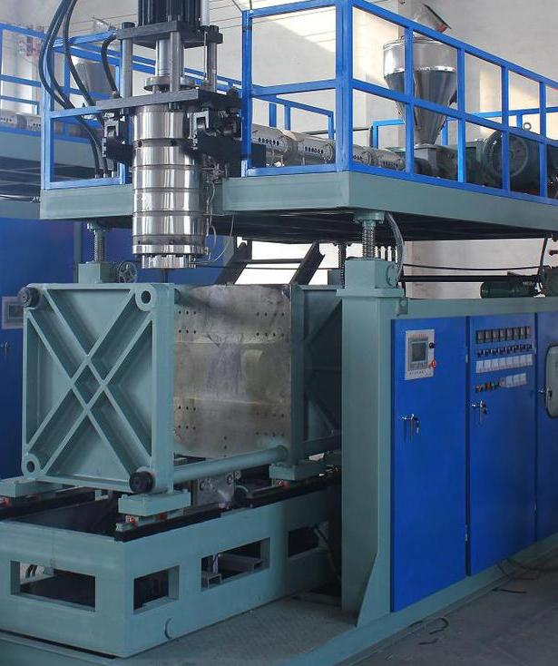 塑料中空成型机_50-300l吹塑机 塑料中空成型机