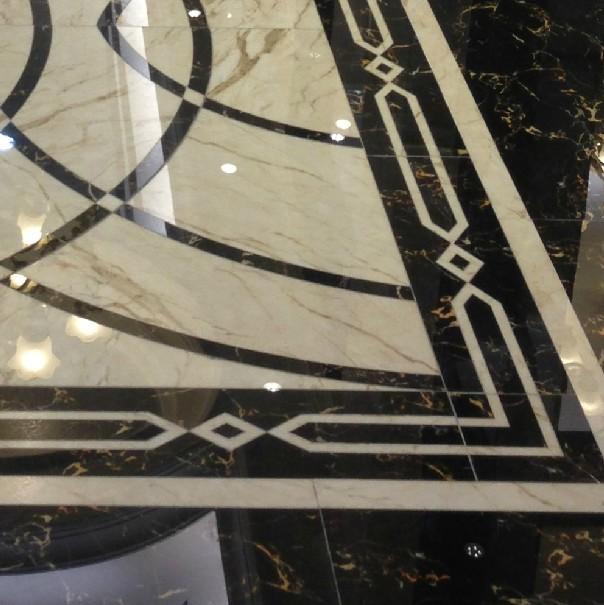 现代简约卫生间瓷砖防滑地砖 高清图片