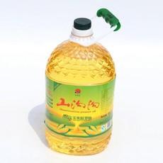 特价直销5L压榨一级清香玉米胚芽油 低温过滤 味更香 色更纯