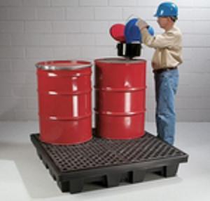 烟台防泄漏托盘、盛漏托盘、青岛化学品托盘、油桶托盘、四桶式托盘
