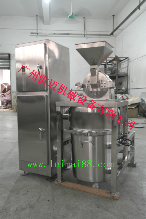 化工厂专用除尘密封式粉碎机 无粉尘粉碎机 防腐蚀性强 全不锈钢制作