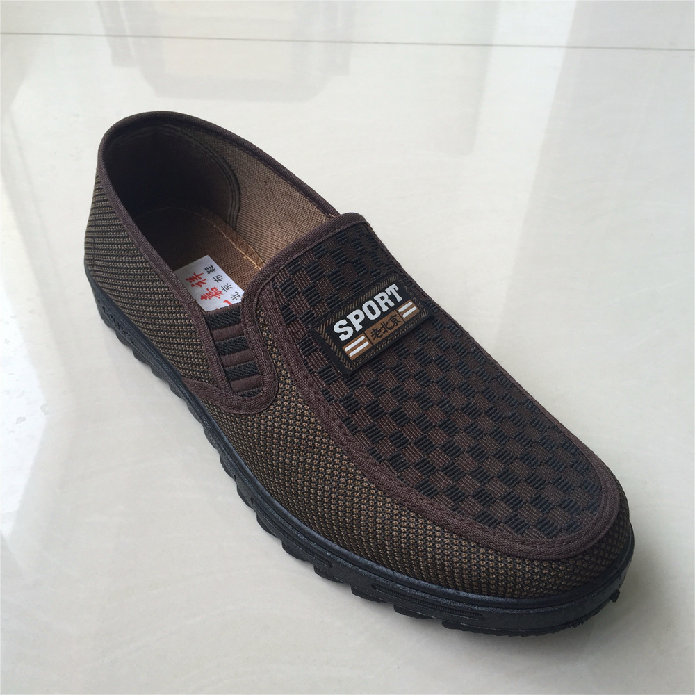 老北京布鞋男单鞋