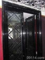黑钛不锈钢门
