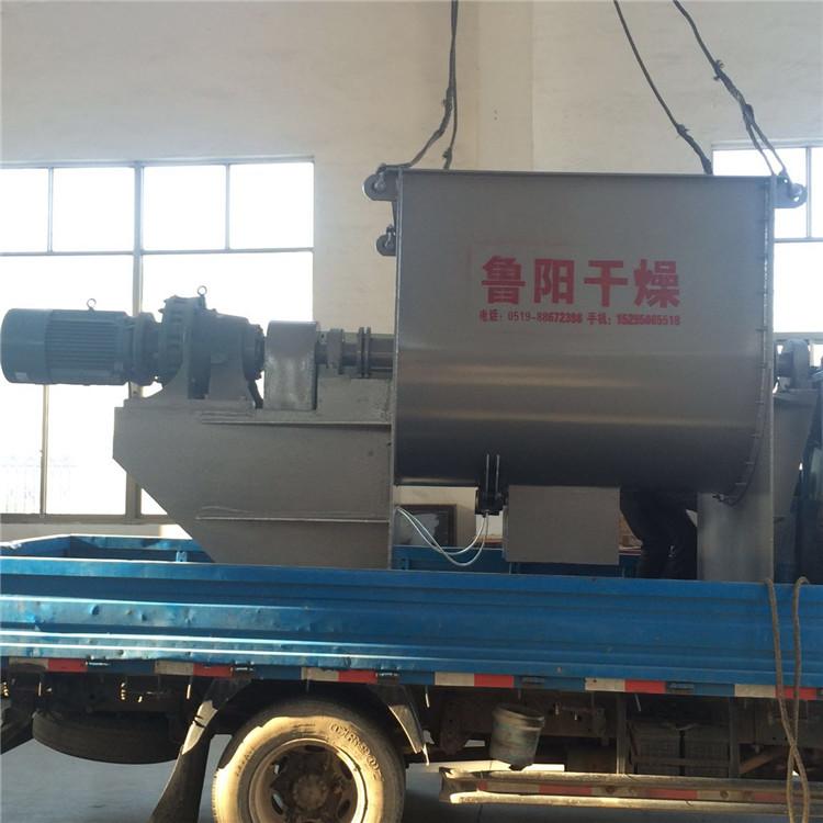 鲁干屋_常州鲁阳干燥优质供应 鲁干牌wldh螺带混合机 品质保证信得过单位