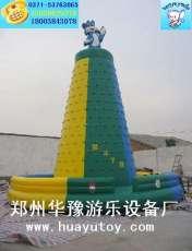 成人娱乐玩具8米充气攀岩价格