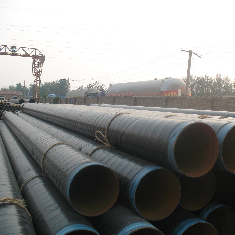 防腐螺旋钢管在电弧焊剂层下进行焊接的方法
