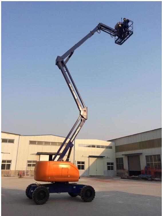 宁夏自行式高空作业车自行折臂式高空作业平台