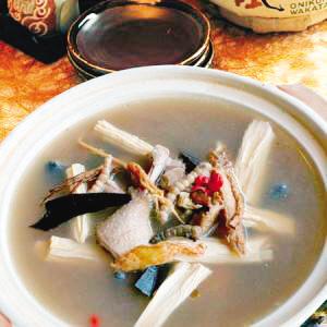 灵芝陈皮老鸭汤的做法及功效