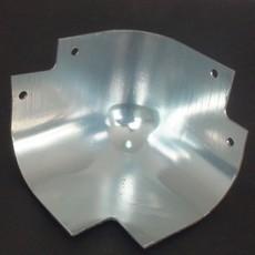 05119铝氧化材质包角 厢式车顶部四角的装饰美观固定作用