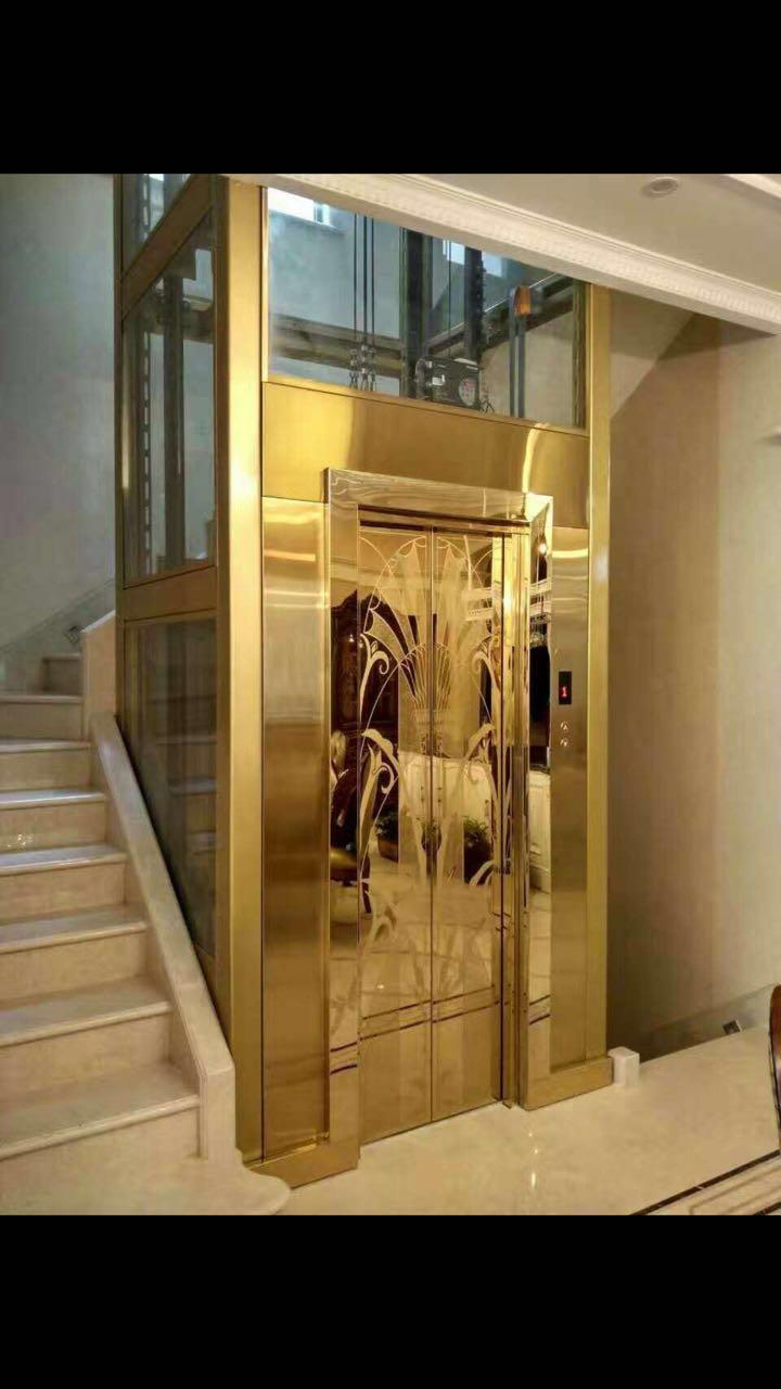 北京锚栓别墅电梯别墅住宅家用电梯轻钢私人图片