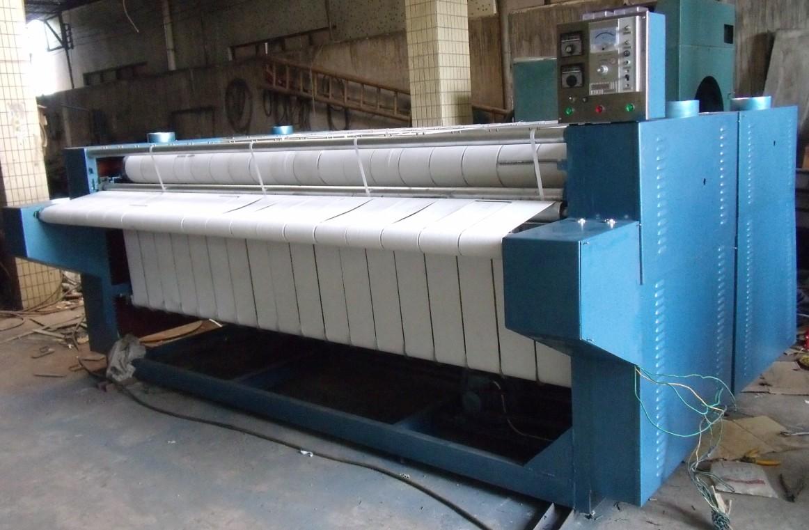 富得牌YZ2800mm型燃气加热式烫平机广州洗涤机械洗涤设备