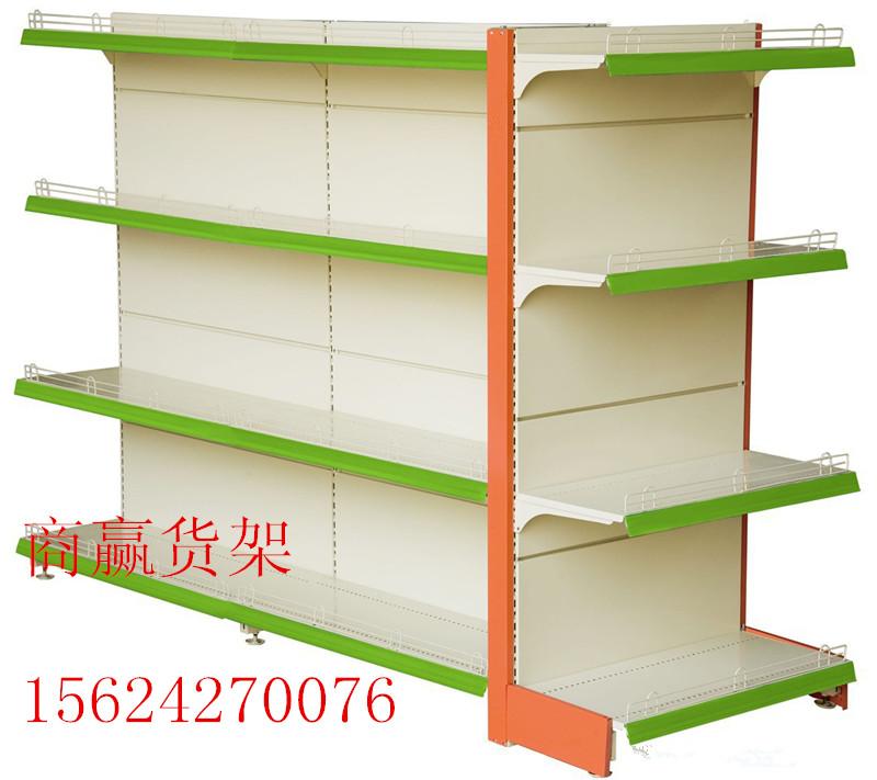 商赢货架厂|供应单双面超市货架|商超货架