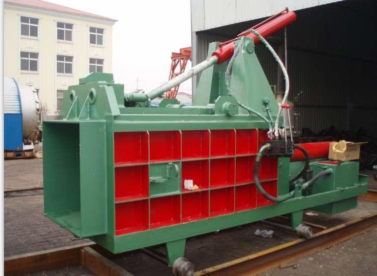 大型废金属液压打包机 废钢压块机