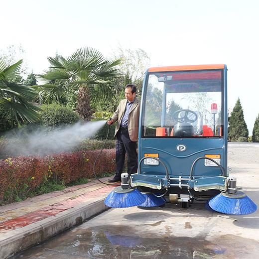 西安普森电动驾驶式环卫清扫车PS-J1860BP
