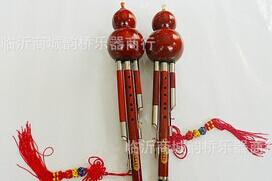 专业演奏型全红木葫芦丝 高档专业演奏三音葫芦丝