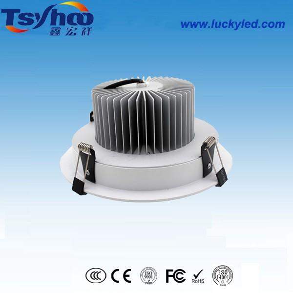 祥雷系列8寸筒灯 36WLED筒灯 嵌入式节能天花筒灯 优质LED灯具供应商