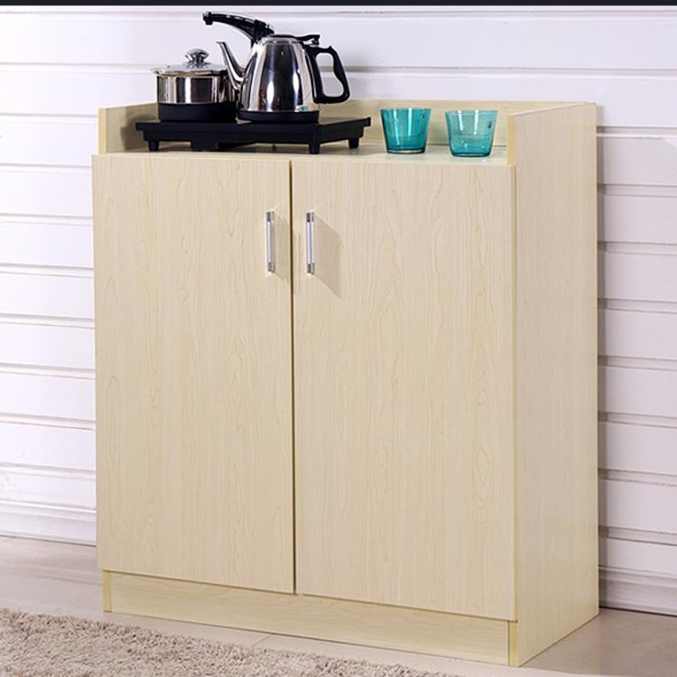 时尚多功能茶水柜收纳 客厅餐边柜 简约厨房橱柜 简易收纳碗柜