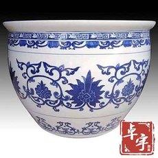 独立式浴盆陶瓷厂家直销 陶瓷泡澡缸大缸 圆形陶瓷浴缸