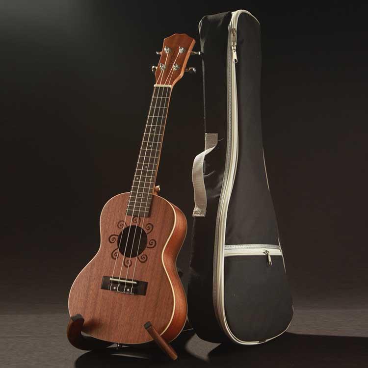 尤克里里指_【新品力荐】供应23寸乌克里里 原木色比利尤克里里 ukulele吉他