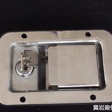03101常用款不锈钢盒锁 厢货车工具箱配件