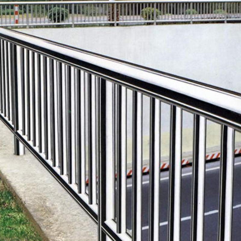 不锈钢防护栏 定制设计复合管桥梁护栏 工程河道安全防撞护栏批发图片