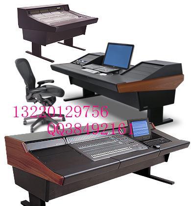 录音棚家具,音频控制台,非编工作台,非线编辑台,广播桌