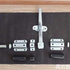 342131厢式车门锁 集装箱门锁 钢/不锈钢门锁配件  配1寸管
