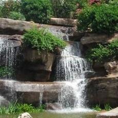 大型假山制作树脂假山制作假山瀑布