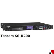 TASCAM SS-R200C 固态录放机 SD CF卡专业机架式数字录音机
