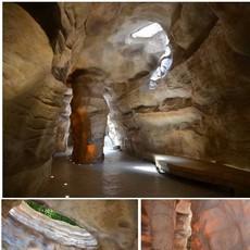 景观石头刻字 雕塑假山