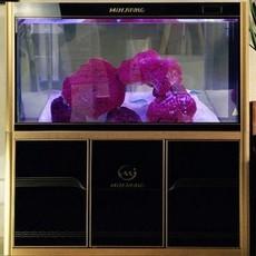 鱼缸水族箱中型1米封闭式水族箱大型玻璃生态鱼缸方形下过滤