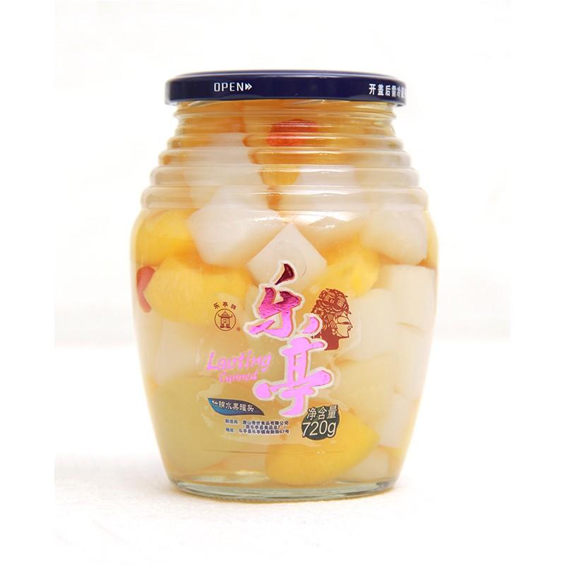厂家直销 批发 水果罐头 720g