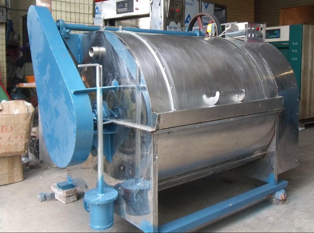 富得牌X80公斤型半自动工业洗衣机广州洗涤机械洗涤设备