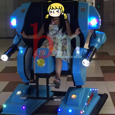 变形金刚机器人行走车成黑龙江七台河广场游乐新主人