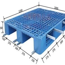 供应内蒙川字网格塑料托盘,内蒙叉车塑料垫板