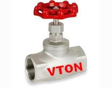 美国威盾VTON进口不锈钢内螺纹闸阀