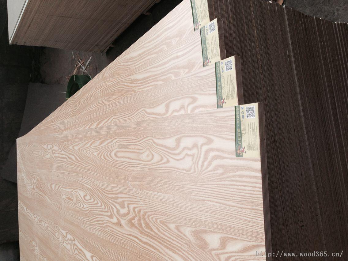桃花芯贴面板奥古曼面 家具板