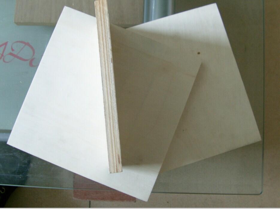 全杨木面家具板 橱柜板 暖白贴面生态板