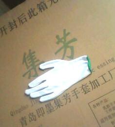 棉毛手套又名作业手套礼仪手套工作手套中国青岛集芳制造