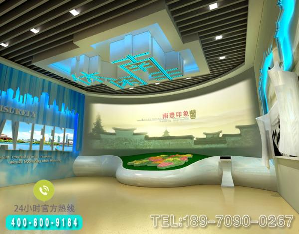 南昌多媒体展厅设计图片