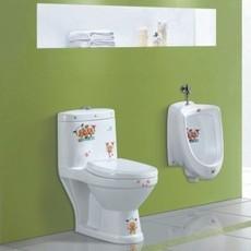 儿童陶瓷马桶,坐便器,幼儿园工程卫浴