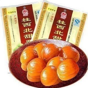 供应 广西特产拉友牌桂西北板栗100g天然休闲零食品