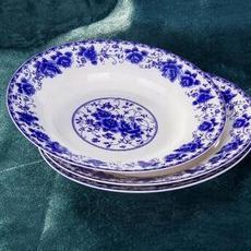 供应 青花瓷碗碟礼品瓷