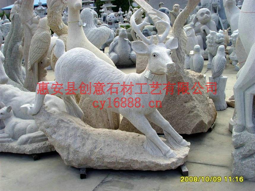 石材动物,动物雕刻,动物雕塑