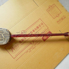 民族乐器厂家直销大三弦色木大三弦赠三弦盒码子大三弦
