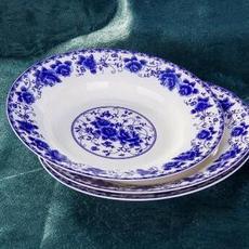 供应青花瓷碗碟陶瓷