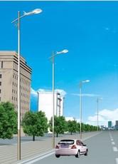 9米LED光源自弯臂路灯厂家生产批发,质量保证,价格低廉!